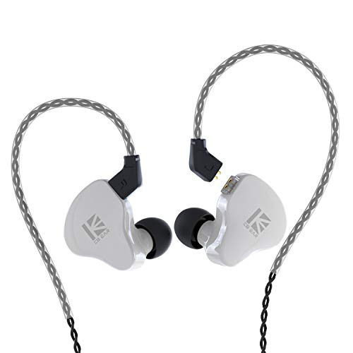 KBEAR KS1 Earphones Super bass Boost, in Ear Monitor, Wired Earbuds, Crystal Sound Stereo Headphones, High Resolution Noise Canceling, Dual magnectic Circuit Dynamic Detachable Cable Auriculares