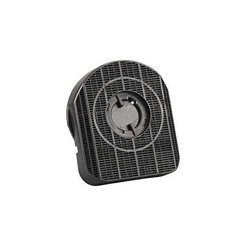 Filtre à charbon DKF 42 type 200 carré-rond - Pour hotte aspirante à angle rond Whirlpool Bauknecht 481281718522 AEG Electrolux 029064800 Merloni ARI090813