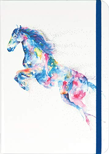 Watercolor Horse Journal (Notebook, Diary)