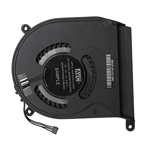 Senmubery BAKA0812R2UP001 DC12V 0.50a Ventilador de Enfriamiento para A1347 Mediados de 2011 P/N: 610-0069