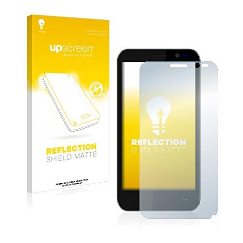upscreen Entspiegelungs-Schutzfolie kompatibel mit Kazam Tornado 2 (5.0) – Anti-Reflex Bildschirmschutz-Folie Matt