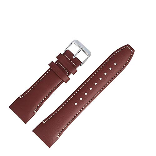 Tommy Hilfiger Uhrenarmband 24mm Leder Braun - Uhrband 679301751