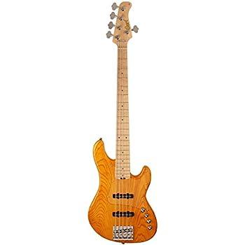 Cort Gb75Jj Jazz Ambra - Guitarra baja de 5 cuerdas: Amazon.es ...