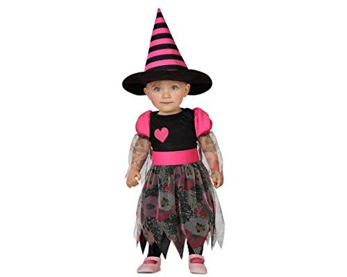 Atosa - 22725 - Costume - Déguisement De Sorcière - Bébé 12-24 Mois