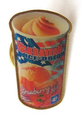 Schöller - Manhattan Strawberry Rip - Pin 24 x 15 mm
