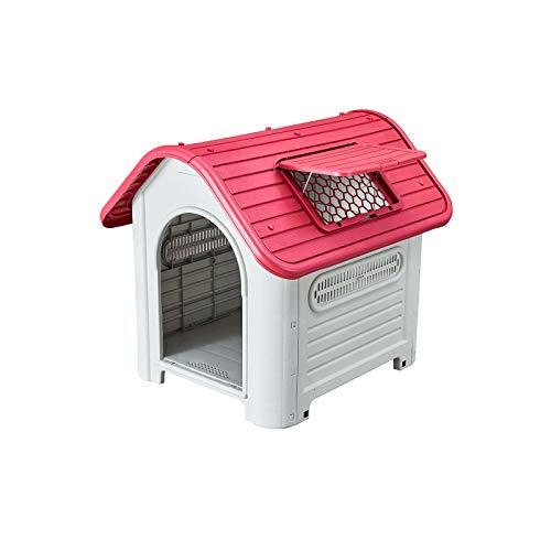 Gardiun KZT1006 Cuccia per Cani Dakota Rete in Resina di Plastica Dimensioni: 72 x 87 x 75 cm (larghezza x profondità x altezza).