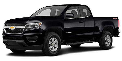 """2019 Chevrolet Colorado 4-Wheel Drive Work Truck, Extended Cab 128.3"""", Black"""