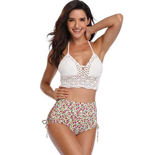 Chengxin Bikinis Twee badpakken met kant halter tops en halter vrouwen bikini's Bikinis