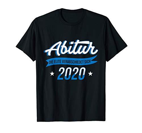 Abitur 2020 Elite Abi Abschluss Bachelor Gymnasium Geschenk T-Shirt