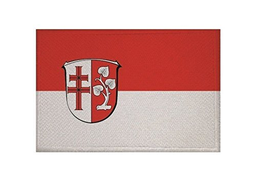 U24 Aufnäher Landkreis Hersfeld-Rotenburg Fahne Flagge Aufbügler Patch 9 x 6 cm