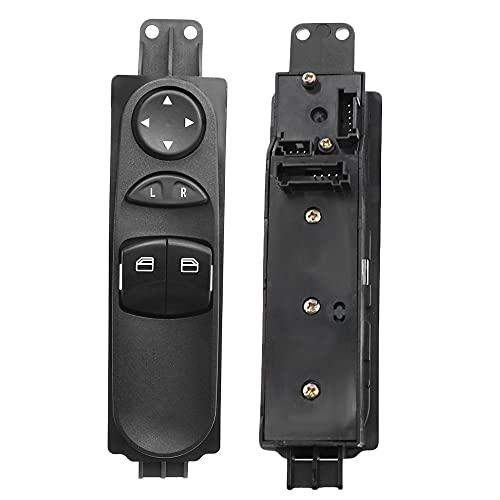 6395450713 Botón de interruptor de ventana principal de energía apto para Mercedes-Benz W639 Vito Mixto Kasten Wieland 2003-2015 A6395451313 A6395450913-9065451213