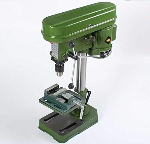Lowest Prices! GHGJU Bench Drill Small Household 220v Industrial Grade Drilling Machine,Rotary Table...