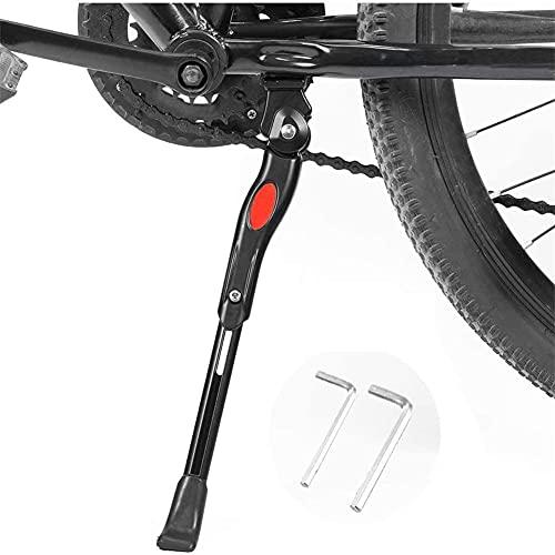 """Bicicletas Pata de Cabra, Ajustable aleación de Aluminio de Bicicletas Lateral Soporte de Apoyo Generalmente 22 """"24"""" 26"""" 27"""" Bicicleta de montaña Bicicleta de Carretera/BMX/MTB/Bici de la Ciudad"""