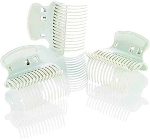 Conair Hot Roller Super Clips, White