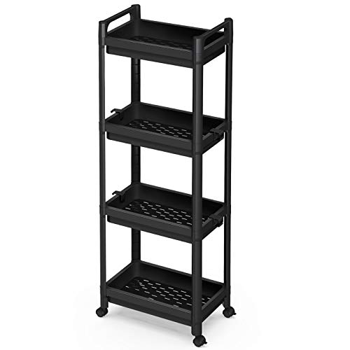 ad: ONLY $19.59  4-Tier Classic Rolling Storage Cart  use code YNS6WAVF at checkout  …