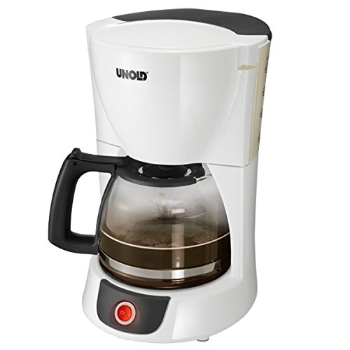 Unold 28031 Kaffeeautomat Weiß/Grau