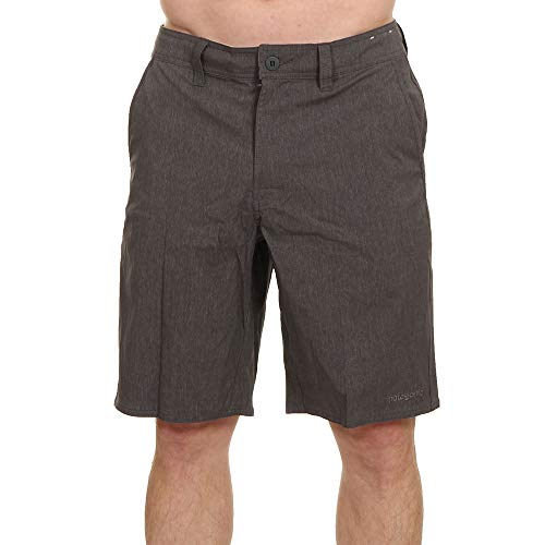 Patagonia Herren Stretch Walk Shorts - 40 M's Stretch Wavefarer Walk Shorts - 20 In. Forge Grey