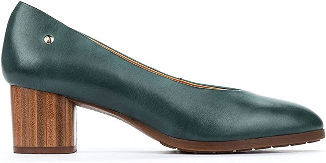 Pikolinos Calafat W1z-5512 Emerald, Uniform Dress Shoe. Mujer
