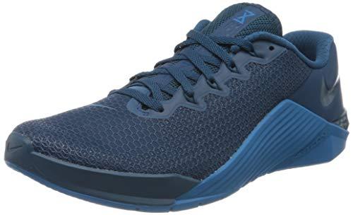 Nike Unisex-Erwachsene Metcon 5 Fitnessschuhe, Blau (Bl...