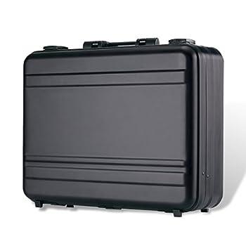 Tokers Aluminum Briefcase Attache Cases for men Laptop Metal briefcases black  black 18.1X13.8X6.1 inch