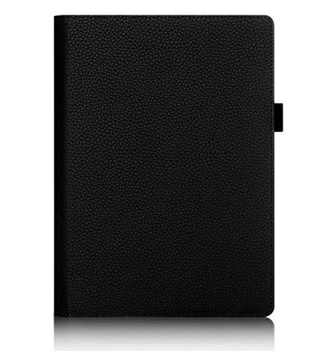 ISIN Premium PU Funda Cover Carcasa para Lenovo Yoga Tab 3 Plus y Lenovo Yoga Tab 3 Pro 10,1' Tablet(Negro)