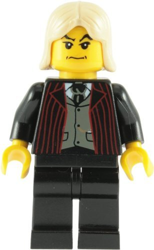 LEGO Harry Potter: Lucius Malfoy (Noir Costume) Mini-Figurine