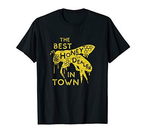 Weltbeste Honig Verkäufer Zeidler Honigbiene Imkerei Zubehör T-Shirt