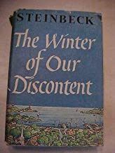 1961 HB Book THE WINTER OF OUR DISCONTENT by John Steinbeck SP