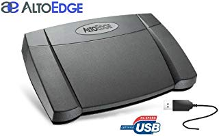 AltoEdge USB Transcription Foot Pedal