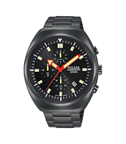 PULSAR Orologio Cronografo Quarzo Uomo con Cinturino in Acciaio Inox PM3089X1