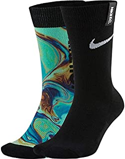 NIKE, U Nk FC Snkr Sox Essential Cre Calcetines Unisex Adulto