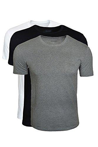 BOSS t-shirt sS t-shirt rN 3P bM 50236738 lot de 3 avec round neck - Multicolore - XXL
