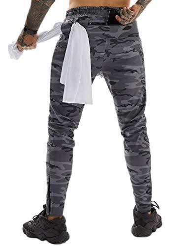 ASKSA - Pantalones de jogging para hombre, pantalones deport