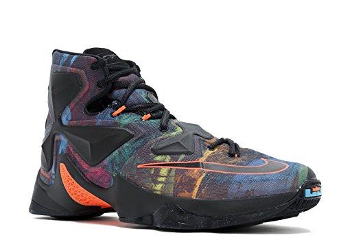 Nike Herren Lebron XIII Basketballschuhe, Schwarz Orange Blau Schwarz Schwarz Hypr Orange Bl Lgn, 44 EU