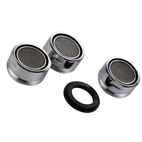 VABNEER 3 piezas Filtro grifo de accesorios de grifo Difusor Filtro grifo de ahorro de agua con junta Para cocina y baño