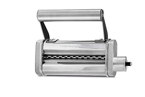 WMF Profi Plus Tagliatelle-Schneider zur Herstellung von Tagliatelle aus Lasagneplatten, 6,5 mm, Edelstahl, Zubehör passend zur WMF Profi Plus / Küchenminis Küchenmaschine
