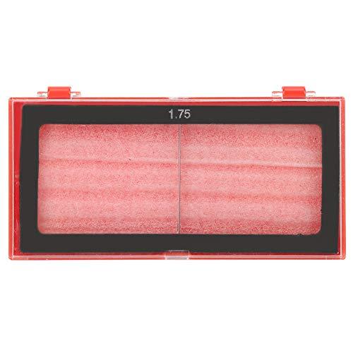 Lente de lupa de vidrio para soldadura, accesorios de soldador anti-ultravioleta con protección ocular, 0,75/1,25/1,75/2,25 dioptrías(1,75)