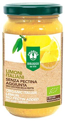 PROBIOS Zitronen-Brotaufstrich - Gesüßt Nur mit Zucker aus Früchte, 3er Pack (3 x 220 g)