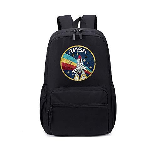 NASA School Bag Personalidad Mochila Escolar Mochila Mochila Impreso Creativo Mochila...