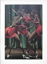Ernie Barnes Singin' Sistahs Print 20 x 14 in.