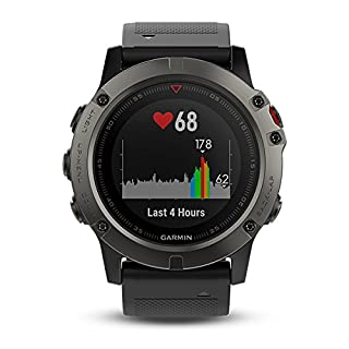 Garmin Fenix 5X Sapphire Bluetooth Nero, Grigio orologio sportivo (B01N12MIMZ) | Amazon price tracker / tracking, Amazon price history charts, Amazon price watches, Amazon price drop alerts