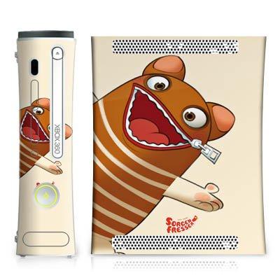 DeinDesign Skin kompatibel mit Microsoft Xbox 360 Aufkleber Folie Sticker Sorgenfresser Enno Fanartikel Merchandise