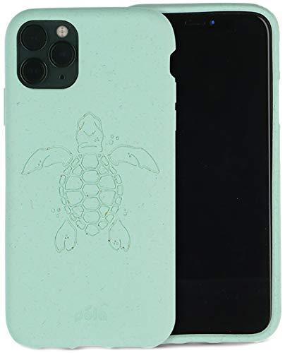 Pela - Cover Protettiva per iPhone 11 PRO - Compostabile al 100% - Biodegradabile - Fabbricato con materie vegetali - Zero sprechi (11 PRO Ocean Turtle)