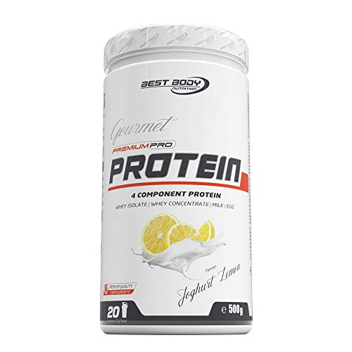 Best Body Nutrition Gourmet Premium Pro Protein Yoghurt Lemon Dose, 500 g