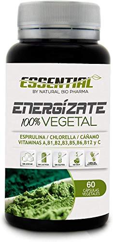 Multivitamínico Total | Fortalece tus defensas y protege tu Sistema Inmune | Vitamina C, A, B1, B2, B3, B5, B6 y B12 + Espirulina + Chlorella | Aporte eficaz de energía y vitalidad | 60U.