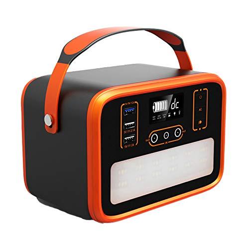 Generatore Portatile 161Wh 50400mAh Accumulatore di Energia con DC AC Invertitori, Caricato dal Pannello Solare Presa a Muro per Campeggio, Cpap Backup di Emergenza