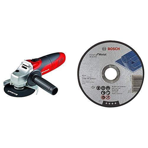 Amoladora angular Einhell TC-AG 125 & Bosch 2 608 600 219 -