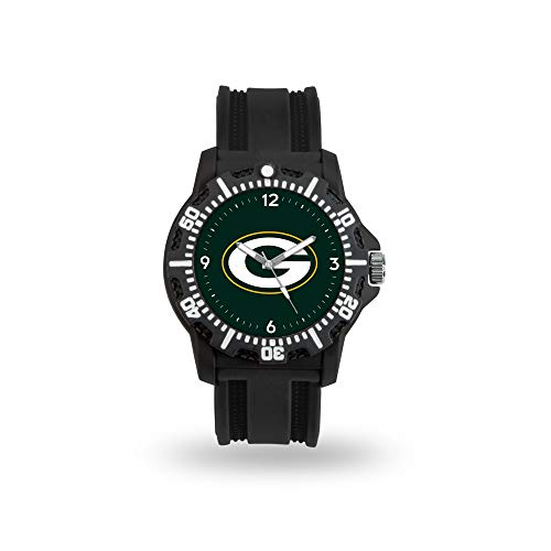 NFL Rico Industries Model Three Watch, Green Bay Packers