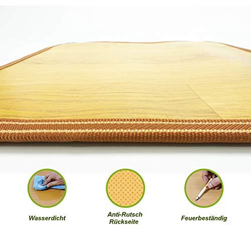 große elektro Fußbodenheizung 105 x200cm Fußwärmer Teppichheizung Wärmematte