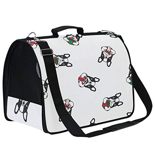 Genrics French Bulldog Small Dog Cat Carrier Sling Hands Free Pet Puppy Outdoor Travel Bag Tote Reversible